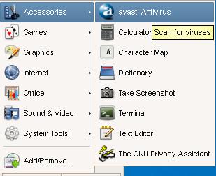 HOWTO: Install Avast Antivirus
