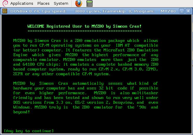 HOWTO] Z80 Emulator - Ubuntu 10 04 LTS
